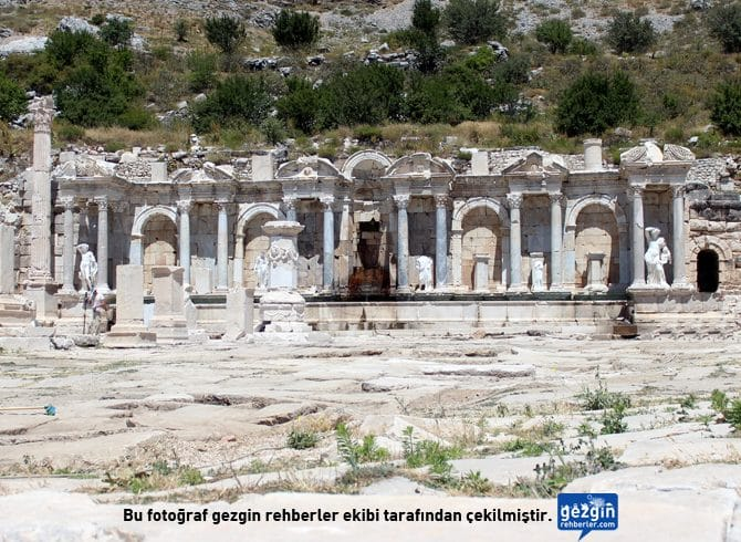 Sagalassos Antik Kenti (Ağlasun - Burdur)