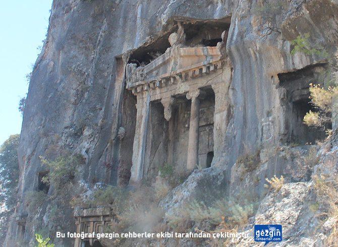 Amintas Kaya Mezarları (Fethiye - Muğla)