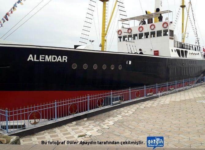 Alemdar Gemisi Müzesi (Karadeniz Ereğli – Zonguldak)