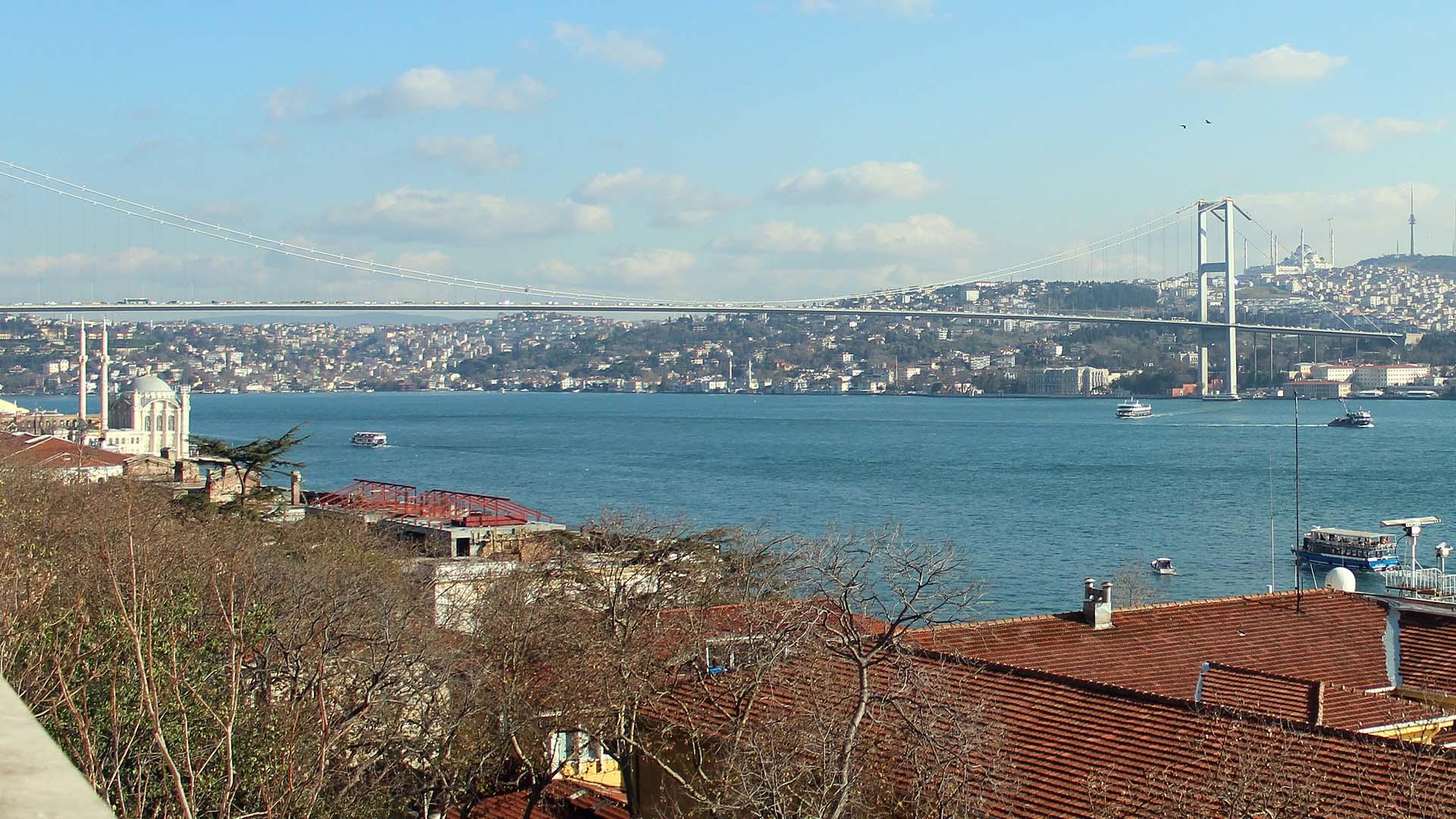 Beşiktaş Sahilden Rumeli Hisarı'na...