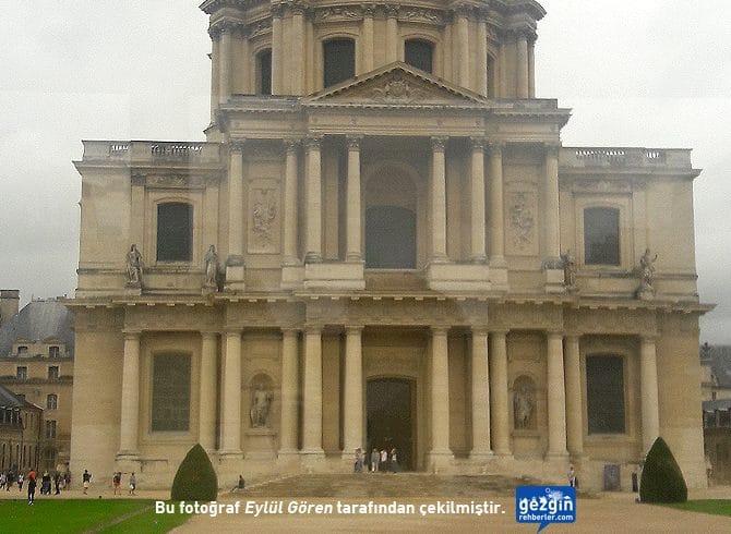 Les Invalides Müzesi ve Dome Kilisesi (Paris - Fransa)